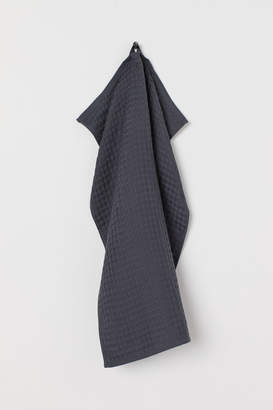 H&M Waffled Hand Towel - Gray