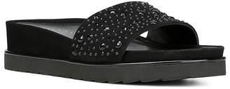 Donald J Pliner Women's Leather Platform Wedge Slide Sandals