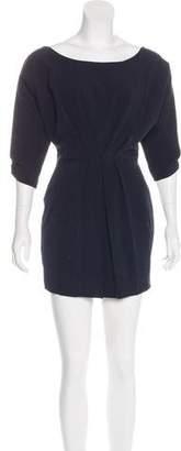 Black Halo Long Sleeve Mini Dress