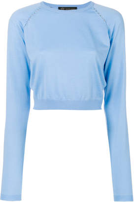 Versace cropped jumper