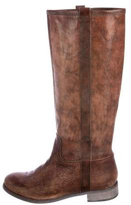 Cordani Leather Knee-High Boots