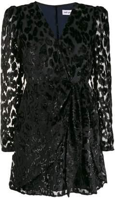 Self-Portrait leopard print embellished dress