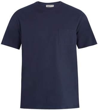 Kilgour Patch-pocket cotton-piquè T-shirt