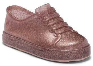 Mini Melissa Glitter Slip-On Jelly Sneaker (Toddler)