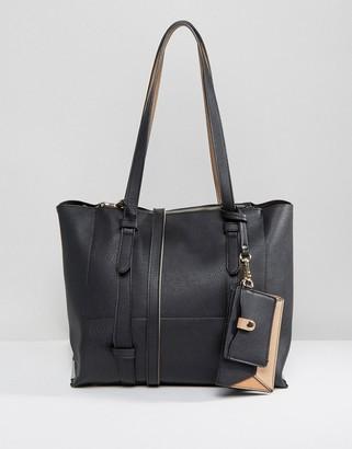 Oasis Shopper Bag With Detachable Purse $55 thestylecure.com