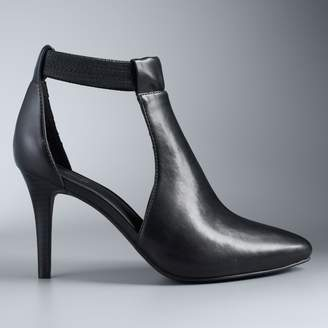 Vera Wang Simply Vera Finch Women's High Heel Ankle Boots