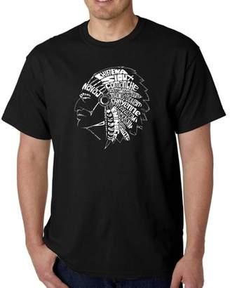 Los Angeles Pop Art Men's t-shirt - popular native American Indian tribes