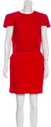 Alexander McQueen Virgin Wool Mini Dress w/ Tags