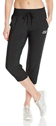 Skechers Active Women's Stretch Woven Crop Jogger $19.57 thestylecure.com