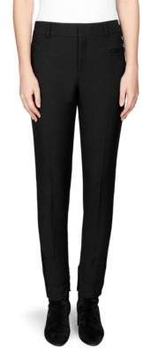 Saint Laurent Wool Zip Side Pants
