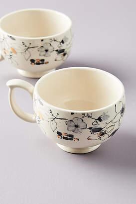 Ralph Lauren Wan Floral Vine Cups, Set of 4