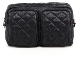 M Z Wallace MZ Wallace Large Quilted Nylon Cosmetic Case