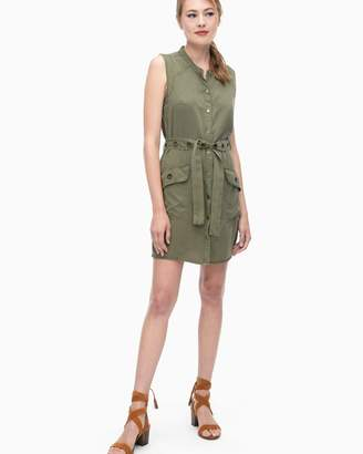 Wilder Tencel Button Down Dress