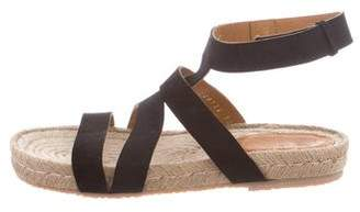 Coclico Suede Espadrille Sandals w/ Tags