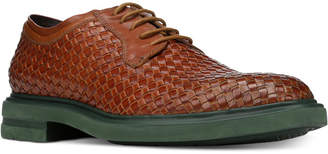 Donald J Pliner Men's Eloi Woven Leather Oxfords Men's Shoes
