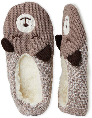 Sleepy Bear Capelli New York Knit Slipper Socks