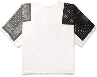 KAPITAL Oversized Printed Cotton-Jersey T-Shirt