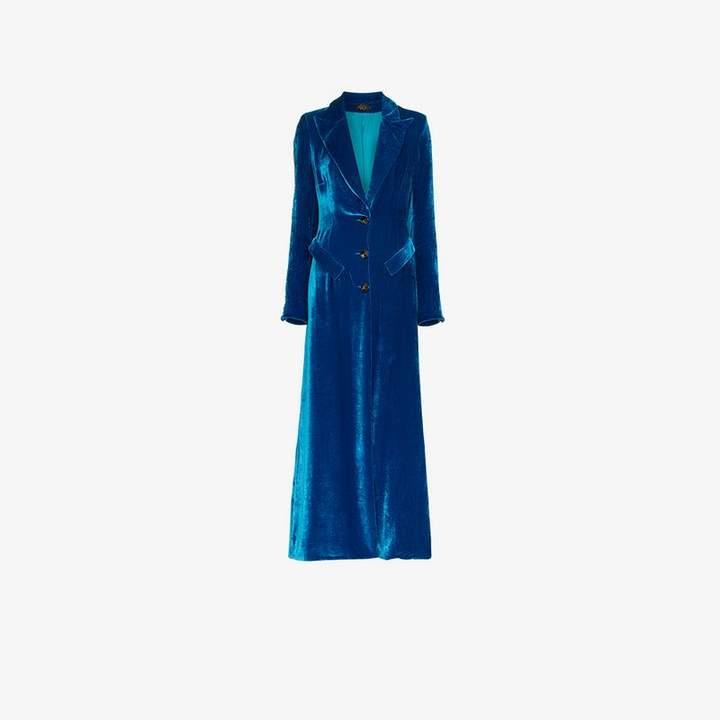 De La Vali Niall Velvet Coat