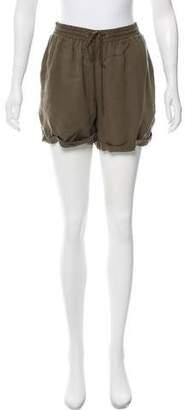 Current/Elliott High-Rise Mini Shorts