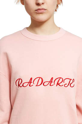 Rodarte Oversize Radarte Los Angeles Paris Sweatshirt