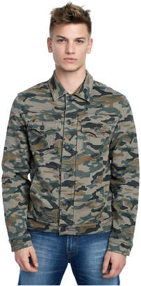 True Religion MENS CAMO DYLAN RENEGADE JACKET