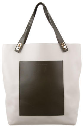 Balenciaga  Balenciaga Leather Pocket Tote M