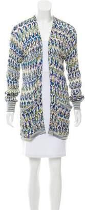 Missoni Open Front Knit Cardigan