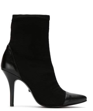 Schutz S0425800540001 BLACK Leather/Fur/Exotic Skins->Leather