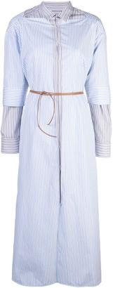 Marni layered shirt dress
