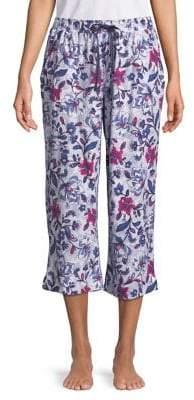 Karen Neuburger Floral Capri Pants