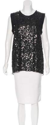 3.1 Phillip Lim Sequin Crepe Top