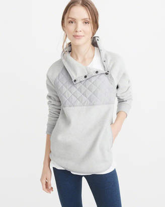 Abercrombie & Fitch Asymmetrical Snap Popover