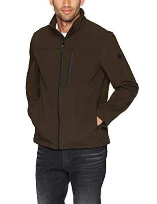 Calvin Klein Men's Soft Shell Open Bottom Jacket Outerwear