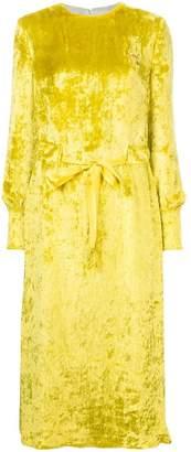 Undercover velvet midi dress