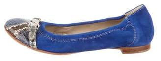 AGL Suede Ballet Flats