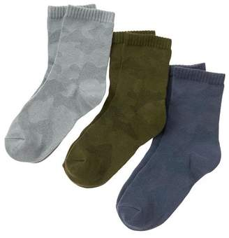 Gymboree Camo Socks 3-Pack