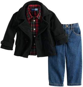 20d789c5b86c Toddler Boy Peacoat - ShopStyle