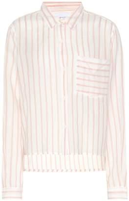 Current/Elliott Striped cotton shirt