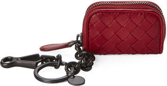Bottega Veneta Intrecciato Nappa Leather Key Ring
