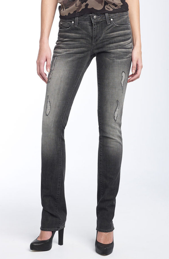 Paige Premium Denim 'Skyline Drive' Skinny Stretch Jeans (Friction Wash)