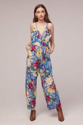 Band of Gypsies Amazonite Floral Jumpsuit