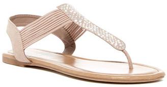 Madden Girl Tata Embellished Thong Sandal $39 thestylecure.com