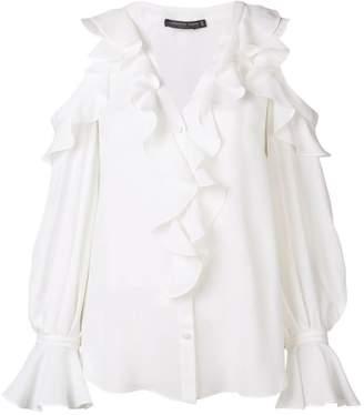 560ea3dbb5b40 Alexander McQueen White Women s Longsleeve Tops - ShopStyle