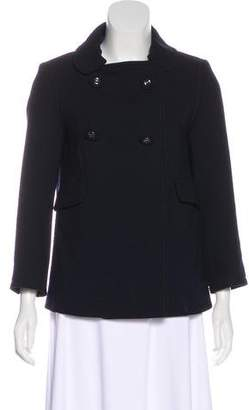 Anya Hindmarch Wool Double-Breasted Jacket