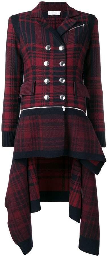 asymmetric coat