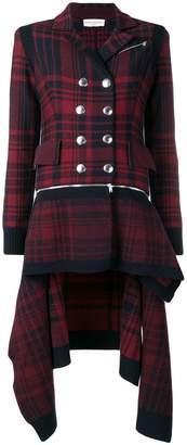 Sonia Rykiel asymmetric coat