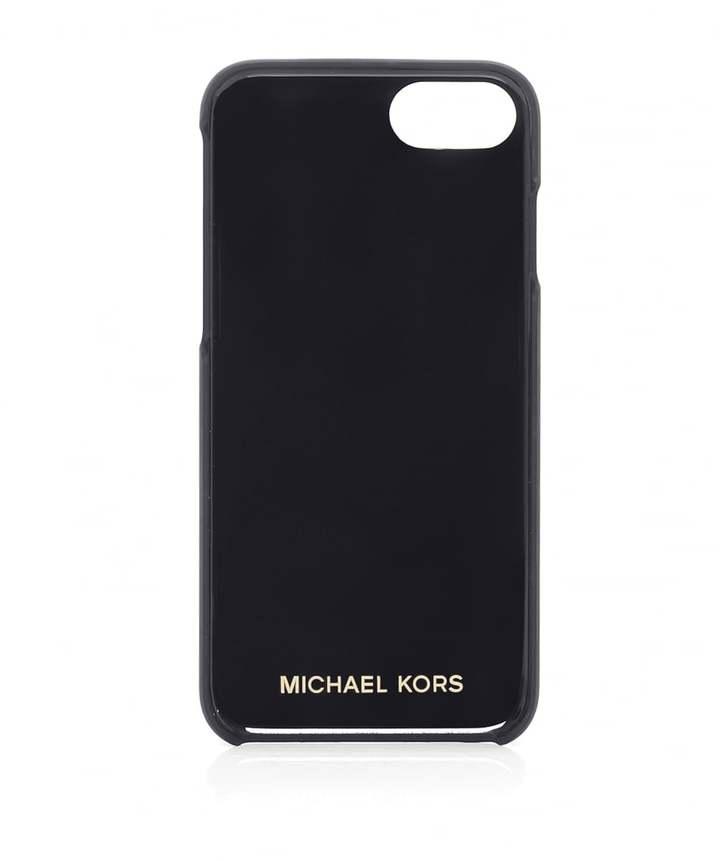 michael michael kors studded leather iphone 7 case. Black Bedroom Furniture Sets. Home Design Ideas