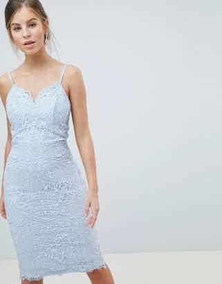 Chi Chi London Cami Strap Pencil Dress