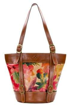 Patricia Nash Enna Leather Bucket Tote