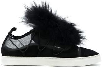 DSQUARED2 fur sneakers